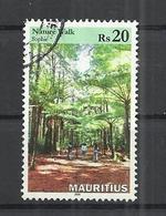 MAURITIUS 2016 - NATURE WALK - POSTALLY USED OBLITERE GESTEMPELT USADO - Maurice (1968-...)
