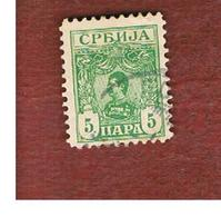 SERBIA   - SG 85a -   1901 KING ALEXANDER I   -   USED - Serbia