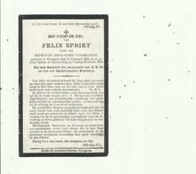 Wingene - Oorlogslachtoffer Tijdens Beschieting 1918 - Devotieprenten