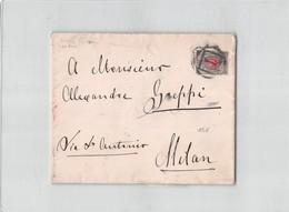 9201 01 RUSSIA TO MILAN - 1857-1916 Impero