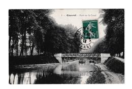 51 COUVROT PONT SUR LE CANAL (Péniches) - France