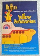 AFFICHE MUSIQUE THE BEATLES YELLOW SUBMARINE - Illustrateur Dessin - Publicité EMI 1999 - Affiches & Posters