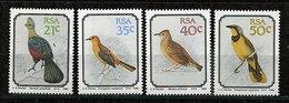 Afrique Du Sud ** N° 717 à 720 - Oiseaux  - - Afrique Du Sud (1961-...)