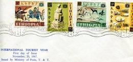 ETHIOPIA 1967 FDC International Tourist Year.BARGAIN. - Ethiopië
