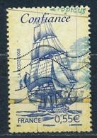 France - Voiliers Célèbres - Confiance YT 4249 Obl Ondulations - France
