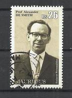 MAURITIUS 2013 - PROF. ALEXANDER DE SMITH - POSTALLY USED OBLITERE GESTEMPELT USADO - Maurice (1968-...)