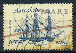 France - Voiliers Célèbres - Astrolabe YT 4252 Obl Ondulations - France