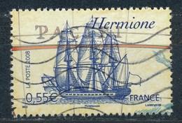 France - Voiliers Célèbres - Hermione YT 4253 Obl Ondulations - France