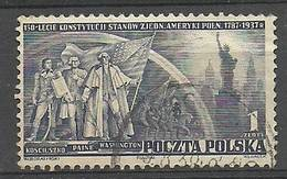Poland 1938 Mi 326 Fi 305 Cancelled ( SZE4 PLD326d ) - Briefmarken