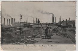 60 - MONTATAIRE - Les Forges - Vue Générale - Grues - Montataire