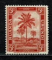 Ruanda Urundi 1942 OBP/COB 126** MNH - Ruanda-Urundi