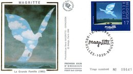 1998 Bruxelles Magritte - FDC