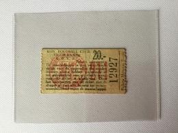 TICKETS D'ENTREE KON FOOTBALL. CLUB VIGOR-HAMME  K.B.V.B. ( Année 1950/1960). - Tickets D'entrée