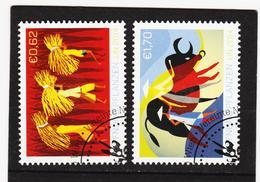 ORY316 VEREINTE NATIONEN UNO WIEN 2014 Michl 840/41 Used / Gestempelt SIEHE ABBILDUNG - Gebraucht