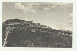 SACRO MONTE DI VARESE E FUNICOLARE DAL MONTE S.FRANCESCO  1910 VIAGGIATA FP - Varese