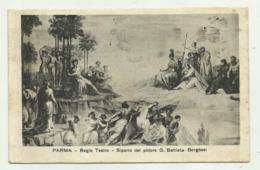 PARMA - REGIO TEATRO -    VIAGGIATA FP - Parma