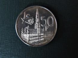 BELGIQUE - BELGIË - Pièce De 50 Francs Argent - Expo 58 - 1951-1993: Baudouin I