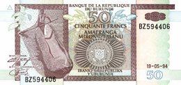 6187 -2019     BILLET BANQUE     BURUNDI - Burundi
