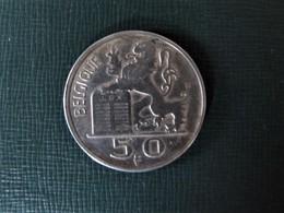 BELGIQUE - BELGIË - Pièce De 50 Francs Argent - 1951 - 1945-1951: Regency