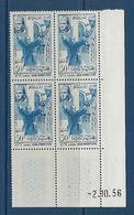 "Maroc Coins Datés YT 373 "" Alphabetisation "" Neuf** Du 2.10.56 - Morocco (1956-...)"