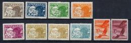 Ab 468     10 Ausgaben  * - 1918-1945 1. Republik