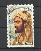 MAURITIUS 2010 - AL-IDRISSI, ARAB GEOGRAPHER - POSTALLY USED OBLITERE GESTEMPELT USADO - Maurice (1968-...)