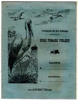 -- COMMUNE DE SAINTE SOLANGE (Cher) - CAHIER D'ECOLIER / Librairie Des Ecoles - Montluçon -- - Book Covers