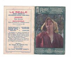 CALENDARIETTO  LA REALE ASSICURAZIONE 1921  SEMESTRINO - Altri
