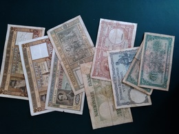 Lot De Billets Belges Années 40 - 500 Francs
