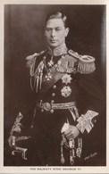 His Majesty King George VI - Hommes Politiques & Militaires
