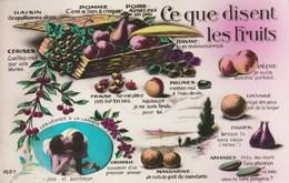 Ce Que Disent Les Fruits - Les Lèvres Et La Langue : Joie Et Bonheur - Autres