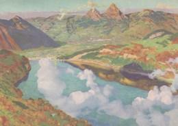 Suisse - Carte Fête Nationale - Année 1948 - Avec Timbre Pro Patria - Pro Patria