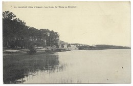 33-LACANAU-Les Bords De L'Etang Au Moutchic... - Autres Communes