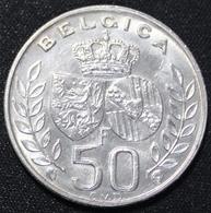 BOUDEWIJN 50 FR  HUWELIJK 1960   PRACHTIGE STAAT 2 SCANS - 1951-1993: Baldovino I