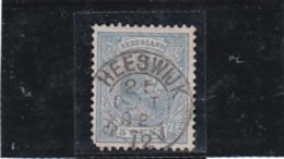 A/a Heeswijk  Kleinrond Stempel Op  Nr 35  Cw € 12,50 (hoekje Links Onder) - Period 1891-1948 (Wilhelmina)