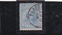A/a Bladel  Kleinrond Stempel Op Nr. 35 CW € 11,50 - Period 1891-1948 (Wilhelmina)
