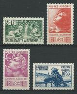 ALGERIE 1946 . Série N°s 249 à 252 . Neufs * (MH) . - Algérie (1924-1962)