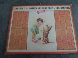 Ancien Almanach Des Postes Télégraphes Et Téléphones 1952 -seine-inférieure - - Big : 1941-60