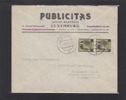 """""""PUBLICITAS"""" (JULES KLENSCH)LUXEMBURG. - 1940-1944 Occupation Allemande"""