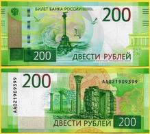 Russia  2017 200 Rubles  UNC Sevastopol - Russie