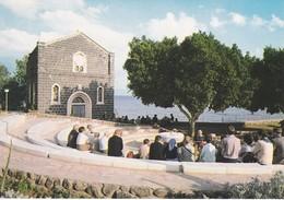 ISRAEL--TABGHA--l'église Saint-pierre--mensa Domini Au Lac De Tiberiade--voir 2 Scans - Israel