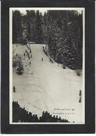 CPA Ski Patinage Sport D'hiver De Neige écrite Saint Gervais Haute Savoie Tremplin Du Vivier - Sports D'hiver