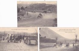 CIRCUIT D AUVERGNE  COUPE GORDON BENNETT 1905    ( LOT DE 3 CPA) - Autres
