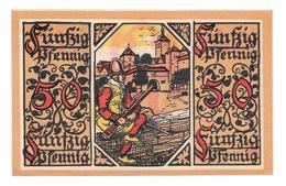 **notgeld  Rothenburg 50 Pfennig R48.2 - [11] Local Banknote Issues