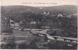46. GLUGES. Vue Panoramique Sur La Dordogne (1) - Other Municipalities