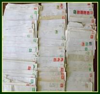 Lot + 200 Lettres Avec Timbres Usage Courant France (courrier De Ces Dernières Années Tarif 20 - 50 - 100 - 250 Gr) TE - Vrac (max 999 Timbres)