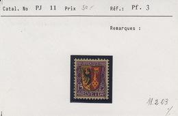 Pro Juventute N° 11 Avec Belle Variété / Abat  11.2.03.Qialiuté Luxe - Used Stamps