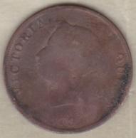 Chypre Half Piastre 1879 Victoria - Cyprus
