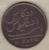 REUNION & MAURICE . 10 CASH 1803 . EAST INDIA COMPANY - Réunion