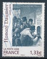 France - Oeuvre D'Honoré Daumier YT 4305 Obl. Ondulations - France